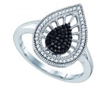 Black Diamond Fashion Band 10K White Gold 0.35 cts. GD-79995