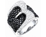 Ladies Daimond Anniversary Band 14K White Gold 3.05 cts. S22-1