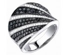 Ladies Diamond Anniversary Band 14K White Gold 1.65 cts. S23-1