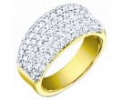 Ladies Diamond Anniversary Band 14K Yellow Gold 1.70 cts. S27-9