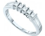 Ladies Diamond Band 14K White Gold 0.50 cts. GD-18580