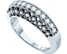 Ladies Diamond Band 14K White Gold 0.50 cts. GD-18692
