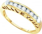 Ladies Diamond Band 10K Yellow Gold 0.27 cts. GD-21519