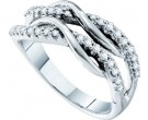 Ladies Diamond Band 14K White Gold 0.39 cts. GD-26183