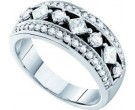 Ladies Diamond Band 14K White Gold 1.00 ct. GD-28173