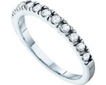 Ladies Diamond Band 14K White Gold 0.33 cts. GD-38882