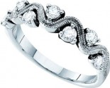 Ladies Diamond Band 14K White Gold 0.50 cts. GD-39181
