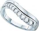 Ladies Diamond Band 14K White Gold 0.33 cts. GD-39316