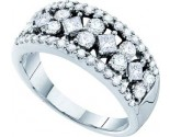 Ladies Diamond Band 14K White Gold 1.25 cts. GD-39360