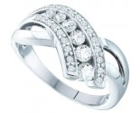 Ladies Diamond Band 14K White Gold 0.50 cts. GD-39684