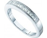 Ladies Diamond Band 14K White Gold 0.25 cts. GD-39834