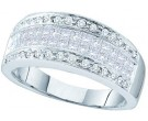 Ladies Diamond Band 14K White Gold 0.95 cts. GD-39848