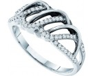 Ladies Diamond Band 14K White Gold 0.26 cts. GD-40307