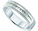 Ladies Diamond Band 14K White Gold 0.25 cts. GD-40770