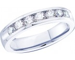 Ladies Diamond Band 14K White Gold 0.75 cts. GD-40843