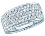 Ladies Diamond Band 14K White Gold 1.00 ct. GD-48411