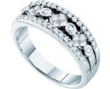 Ladies Diamond Band 14K White Gold 0.48 cts. GD-48434