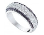 Ladies Diamond Band 14K White Gold 0.97 cts. GD-51820