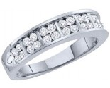 Ladies Diamond Band 14K White Gold 0.50 cts. GD-52396