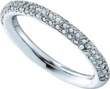 Ladies Diamond Band 14K White Gold 0.40 cts. GD-53235