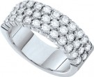 Ladies Diamond Band 14K White Gold 1.00 ct. GD-54710