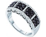 Ladies Diamond Band 14K White Gold 0.52 cts. GD-57492