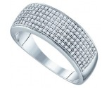 Ladies Diamond Band 10K White Gold 0.50 cts. GD-64570