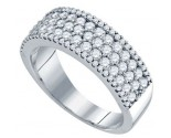 Ladies Diamond Band 14K White Gold 1.17 cts. GD-69381