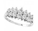 Ladies Diamond Band 14K White Gold 1.00 ct. GS-20333