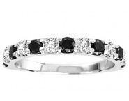 Ladies Diamond Band 14K White Gold 0.25 cts. GS-22434