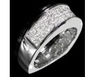 Diamond Band 14K White Gold 1.53 cts. 6R837