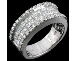 Diamond Band 14K White Gold 2.24 cts. 7R896