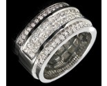 Diamond Band 14K White Gold 1.82 cts. 7R930