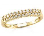 Ladies Diamond Band 14K Yellow Gold 0.50 cts. S12-7