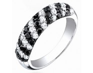 Ladies Diamond Band 14K White Gold 1.20 cts. S22-4
