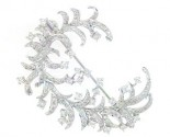 Diamond Brooch 18K White Gold 2.23 cts. DBH14060-B
