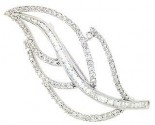 Diamond Brooch 18K White Gold 2.25 cts. DBH15197-B