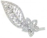 Diamond Brooch 18K White Gold 0.70 cts. DBH15234-B