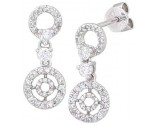 Diamond Chandelier Earring 14K White Gold A72-E0041