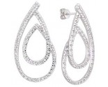Diamond Chandelier Earring 14K White Gold A72-E0200