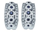 10K White Gold Diamond Fashion Earrings 0.75 cts. GD-60545