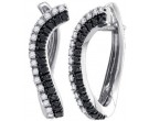 10K White Gold Diamond Fashion Earrings 0.70 cts. GD-84580