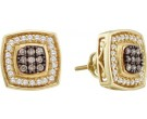 Ladies Diamond Fashion Earrings 14K Yellow Gold 0.50 cts. GD-52596