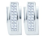 Diamond Fashion Earrings 14K White Gold 1.00 ct. GD- 53575