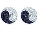 Diamond Fashion Earrings 10K White Gold 0.36 cts. GD-60294