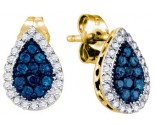 Diamond Fashion Earrings 10K Yellow Gold 0.53 cts. GD-65912