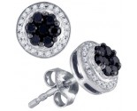 Diamond Fashion Earrings 10K White Gold 0.51 cts. GD-75988