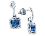 Diamond Fashion Earrings 10K White Gold 0.33 cts. GD-79721
