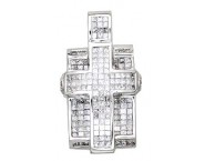 Diamond Cross Pendant 4.25 cts. A36-P0331
