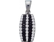 Diamond Fashion Pendant 10K White Gold 0.39 cts. GD-54863